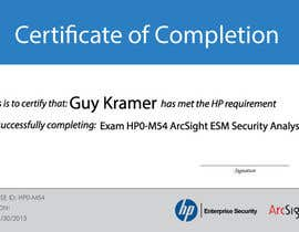 #31 para I need a certificate designing for an exam - EASY por the0d0ra