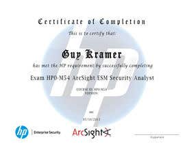 #7 para I need a certificate designing for an exam - EASY por mudoki