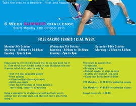 #4 for Design a Flyer for Cardio Tennis by matula1978