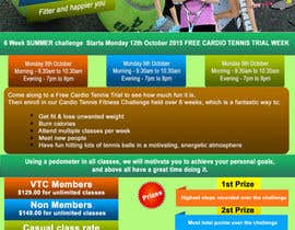 #10 for Design a Flyer for Cardio Tennis by rap3dgp