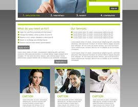 #9 for Recruitment website home page design af vitalblaze