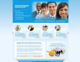 #19 for Recruitment website home page design af grafixeu