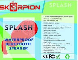 VMRKO tarafından Create Print and Packaging Designs for Waterproof Speaker için no 16