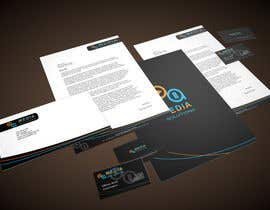 #19 para Corporative Image: Business Card, Paper, Envelop, etc por CreativeSquad
