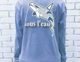#41 untuk Design a T-Shirt for sous l'eau (underwater) oleh elliondesignidea