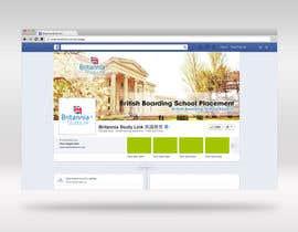 qsilver06 tarafından Design a Banner for Facebook (School Placement Company) için no 22