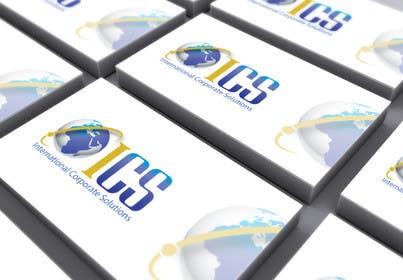 #113 untuk Design a Logo and Corporate Identity for International Corporate Solutions - ICS oleh deztinyawaits