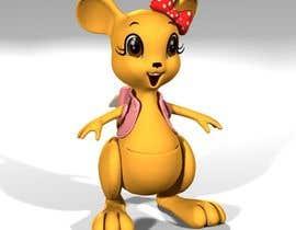peshan tarafından Kangaroo female cartoon style 3D için no 16