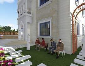arch1asem tarafından Villa Exterior Design (3D rendering) için no 20