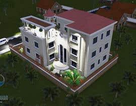 arch1asem tarafından Villa Exterior Design (3D rendering) için no 24