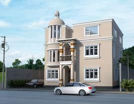 ars001 tarafından Villa Exterior Design (3D rendering) için no 15