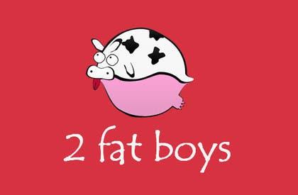 #4 untuk Design a Logo for  2 Fat Boys bbq foodtruck oleh bouchtiba23