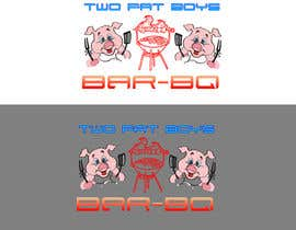 #32 untuk Design a Logo for  2 Fat Boys bbq foodtruck oleh szamnet
