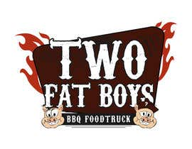 #25 untuk Design a Logo for  2 Fat Boys bbq foodtruck oleh GirottiGabriel