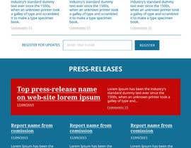#77 untuk Design a Website Mockup for Friends of Ethics oleh RomartDev