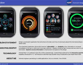 #229 for NASA Challenge: Astronaut Smartwatch App Interface Design. by johnnyb128