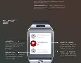 #118 for NASA Challenge: Astronaut Smartwatch App Interface Design. by PereViki