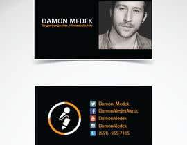 andhan tarafından Design some Business Cards for Singer/Songwriter için no 7