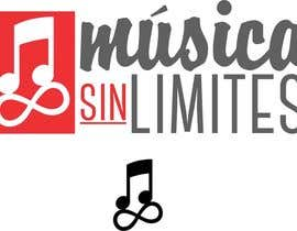 """f3d3s1gn tarafından Diseñar un logotipo para """"MUSICA SIN LIMITES"""" un proyecto social donde se involucra la musica için no 21"""