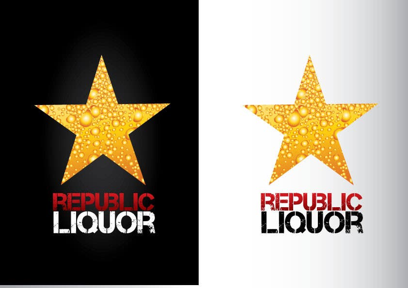 #310 for Design a Logo for republic liquor by GeorgeOrf