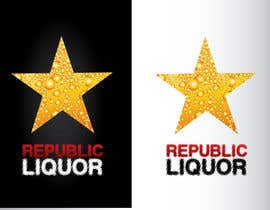 #350 para Design a Logo for republic liquor por GeorgeOrf
