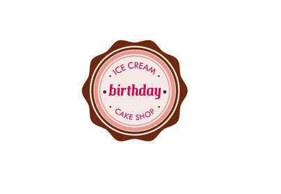 #18 untuk Design a Logo for  ice cream birthday cake shop oleh alejandranhr
