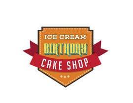 #74 untuk Design a Logo for  ice cream birthday cake shop oleh navadeepz
