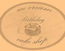 #59 untuk Design a Logo for  ice cream birthday cake shop oleh andjelkons