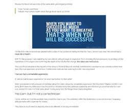#7 untuk Design a wordpress website for a career advice startup oleh webidea12