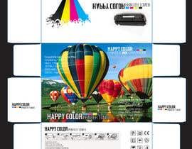 #12 untuk Create Print and Packaging Designs for HAPPY COLOR Printer toner box oleh Med7008