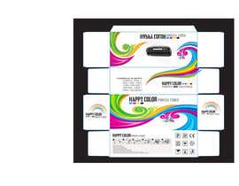 #20 untuk Create Print and Packaging Designs for HAPPY COLOR Printer toner box oleh Med7008