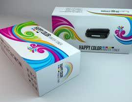 #21 untuk Create Print and Packaging Designs for HAPPY COLOR Printer toner box oleh Med7008