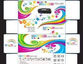 #24 untuk Create Print and Packaging Designs for HAPPY COLOR Printer toner box oleh Med7008