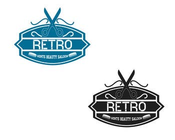 #22 untuk Design a Logo for a  gents beauty salon and a company which sells salon supplies oleh akritidas21