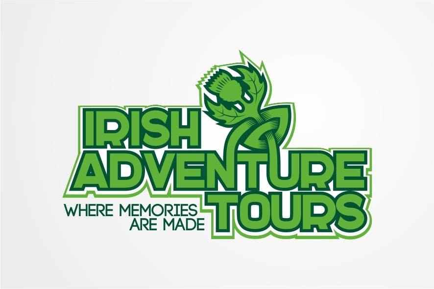 Penyertaan Peraduan #42 untuk Design a Logo for Irish Adventure Tours