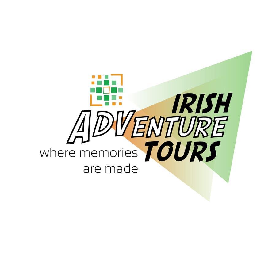 Penyertaan Peraduan #53 untuk Design a Logo for Irish Adventure Tours