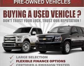 #12 untuk Design an Advertisement for Car Dealership oleh mohitjaved