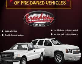 atheriftikhar tarafından Design an Advertisement for Car Dealership için no 1