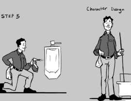 #5 untuk Illustrate Something for Restroom Cleaning TRAINING manual oleh AlexLias