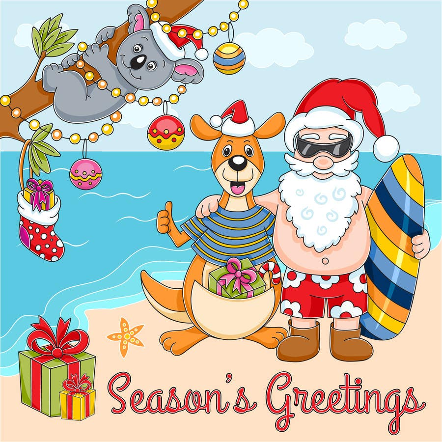Entry 101 by olena0709 for australian christmas greeting ecard contest entry 101 for australian christmas greeting ecard m4hsunfo Choice Image