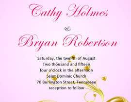 matula1978 tarafından Design some Wedding Invitations için no 1