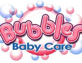 #116 para Logo Design for brand name 'Bubbles Baby Care' por richhwalsh