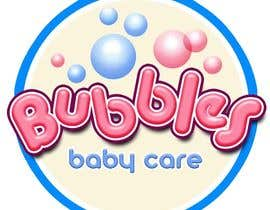 #162 para Logo Design for brand name 'Bubbles Baby Care' por richhwalsh
