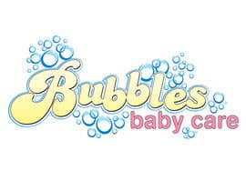 #77 para Logo Design for brand name 'Bubbles Baby Care' por Amyzoebites