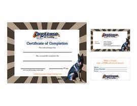 gracielanne tarafından Design a Certificate of Completion, Business Card için no 1