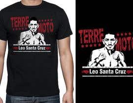 griffindesing tarafından Design a T-Shirt for Leo Santa Cruz için no 27
