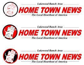 #46 para Icon and Magazine Name design for new company, Hometown News por raycboston
