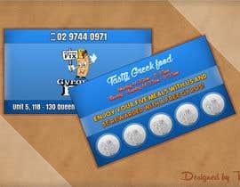 #4 untuk Design a loyalty card oleh wapuztaw