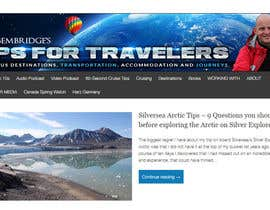 mayerdesigns tarafından Design a Banner for Tips For Travellers website için no 128