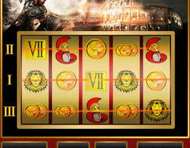 #10 untuk 2D Slot machine graphics, illustrator photoshop. high quality oleh soput